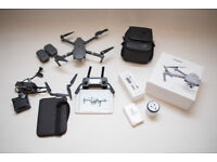DJI Mavic Pro, Bundle Fly more excellent condition.