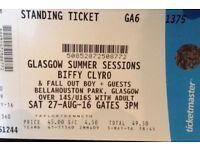 Biffy Clyro Tickets - Glasgow 27/08/16