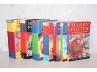 Complete Set Harry Potter Books Collection 1 - 7 Bundle First Editions Hardbacks
