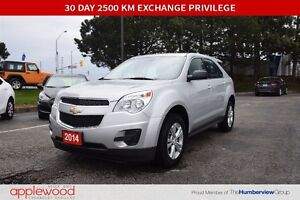 2014 Chevrolet Equinox ONE OWNER BOUGHT AND SERVICED AT APPLEWOO