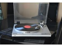 JVC DIRECT DRIVE 3 SPEED/PITCH BEND RECORDPLAYER CANBE SEENWORKING