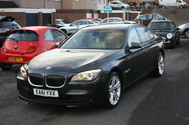 BMW 730D M SPORT 2012/61 reg. FOR SALE