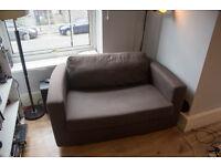 Habitat 2 seater single sofa bed