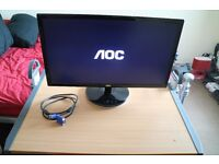 """AOC 2343F 23"""" LED Monitor - pickup or delivery within 20 miles."""