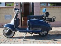 Lambretta TV175 Series 2 1960 original Italian / British bike.