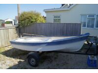 "11' 6"" Hardchine dingy boat by Teign Marine"