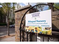 Fantastic bilingual nursery FR/EN with RU option