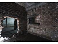 Stunning derelict industrial warehouse film location/ photo studio Haggerston Hackney East London