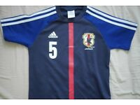 Japan team jersey size 7-8 (not current worldcup)