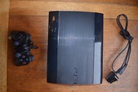 PS3 with 1 controller, Skate 3 & Skyrim