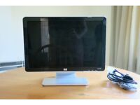 "HP w1907v 19"" LCD Monitor with Cables"
