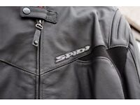 Leather Motorbike Jacket and leather Motorbike Trousers for sale seperately