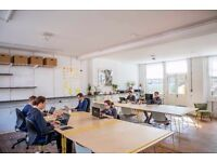 Available desks at friendly & affordable shared workspace near Bethnal Green E2