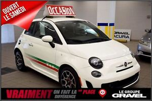 2013 Fiat 500 SPORT TURBO CUIR BLUETOOTH