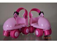 Roller Skates - Girls Pink.