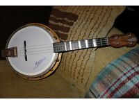 Concert Size Marma Ukelele Banjo. Circa 1960's.