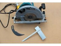 "Makita 5903r Circular Saw 110v Wood Joinery 9"" 235mm very good condition. Mild use"