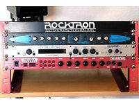 Rocktron Pirhana Pre-amp and Intellifex-Ltd 19 in Rack system with Zoom 1202 processor.