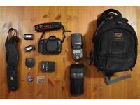 Canon EOS 5D Mark II 21.1MP Digital SLR Camera and extras