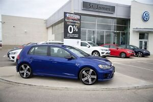 2016 Volkswagen Golf R 5-Dr 2.0T 4motion - 100% Accident free!!