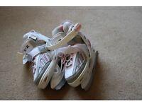 "Girls' ""SFR"" Ice Skates - adjustable size 9-12"