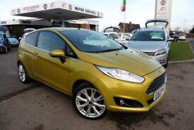 Ford Fiesta TITANIUM X (yellow) 2013