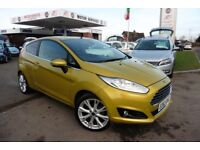 Ford Fiesta TITANIUM X (yellow) 2013