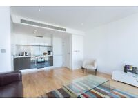** LUXURY BRAND NEW 1 BED APARTMENT STUNNING VIEW, GYM, MINUTES WALK TO CANARY WHARF, E14 - AW