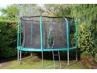 12ft Trampoline -2 years old