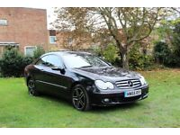 Mercedes CLK 220 cdi diesel auto, full service history, full 1 year Mot, hpi clear, Lovely Car