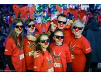 Cancer Research Wales Reindeer Run 2018