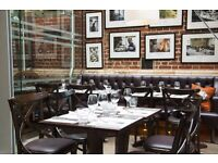 Chef de Rang / Waiter / Receptionist / Head Bartender / Head Waiter