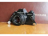 Praktica BC1 with 50mm lens film camera