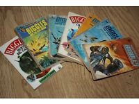 Seven Biggles paperbacks by WE Johns