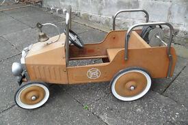 60's/1970's??? Vintage Kids Fire Engine