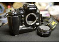 Nikon F4s AF SLR camera, F mount, auto-focus
