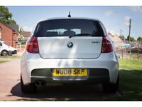 For Sale is my 2008 BMW 130i M Sport, finished in rare Alpine white.