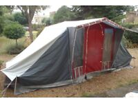 Amazing Quality Canvas Tent For Sale! Vintage Style Tent with Inner Compartments. Sleeps 4 People.