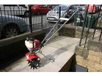 Petrol Mantis tiller/rotivater with Honda GX25 4 stroke engine