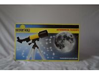 Astronomical Telescope - Nearly New Great Condition