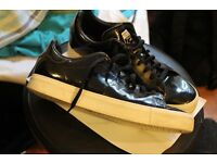 Adidas Stan Smith / black luminous size uk 9 1/2 limited edition for men ! like new