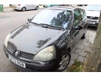 2004 Renault Clio 1.2 16V Dynamique Excellent Runner With Faults. for spare or parts