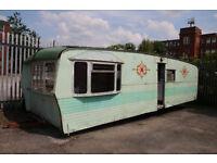 Scrap Caravan for sale. Possible garden shed? £250