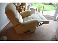 Recliner Chair comfortable and excellent condition upholstery
