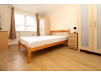 🆕ENSUITE DOUBLE ROOM FOR COUPLE IN 3 BED FLAT IN CANARY WHARF -ZERO DEPOSIT APPLY- #Settlers