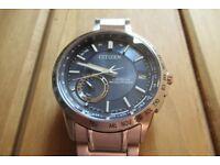 Citizen Satellite Wave GPS Watch, CC3000-85E, Perfect Condition, Blue dial