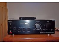 Sony Integrated Stereo Amplifier TA-FB740R