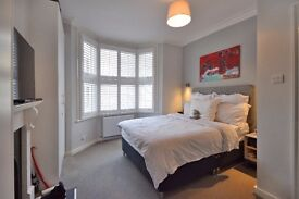RENOVATED 2 BED GARDEN FLAT BISCAY RD, HAMMERSMITH W6 AVAILABLE 31ST OCTOBER