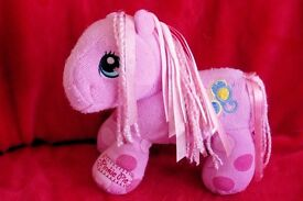 Hasbro 2007 My Little Pony, Pinky Pie Cuddly Toy, 9 inches high, Lots of other cuddly toys, Histon