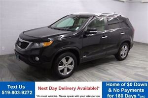 2012 Kia Sorento EX V6 AWD NAVIGATION! LEATHER! PANO ROOF! REAR